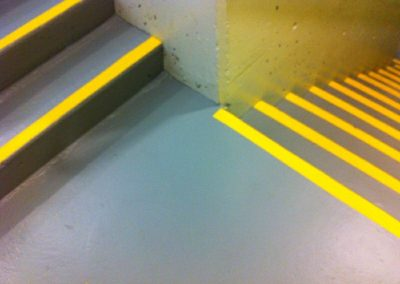 Commercial Interior Painting Stairwell Saftey 3