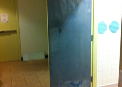 Commercial Interior Paiting Door Before