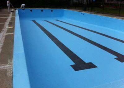 Commercial Paiting Exterior Swimming Pool After 2