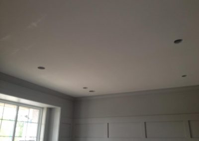Interior house painting_Popcorn ceiling removal