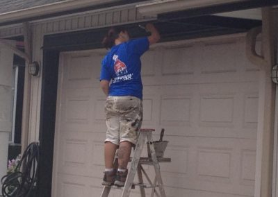 Residential Exterior Exterior House Painting Garage Trim