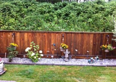 Residential Exterior Painting Wood Fence 3