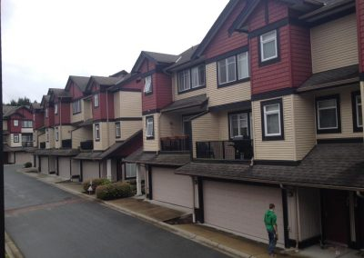 Residential Strata Exterior Painting Complete Langley