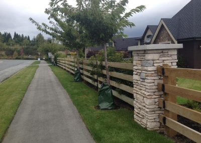 Residential_Painting_Exterior_Fence_Before_Langley